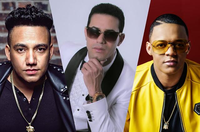 Raulin Rodríguez, Secreto y Elvis Martínez,