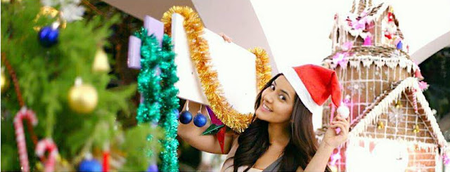 Actress Rashi Khanna Christmas Photo