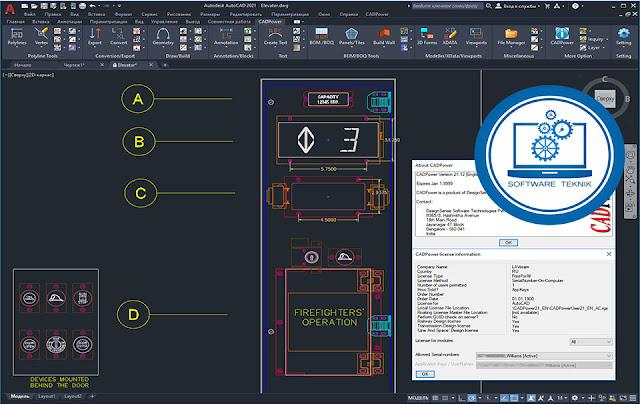 Four Dimension CADPower v21
