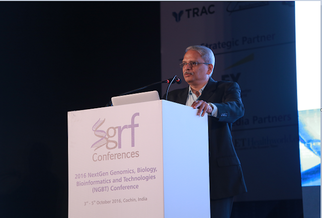 Mr. Kris Gopalakrishnan, Executive Vice Chairman, Infosys  addressing the gathering  at NGBT Conference in Cochin