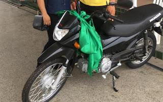 Moto é Furtada dentro do estacionamento do Hospital Pedrina Silveira em Guadalupe do Piauí