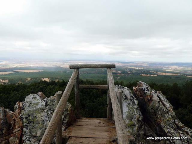 miradores y naturaleza cerca de Riaza Segovia