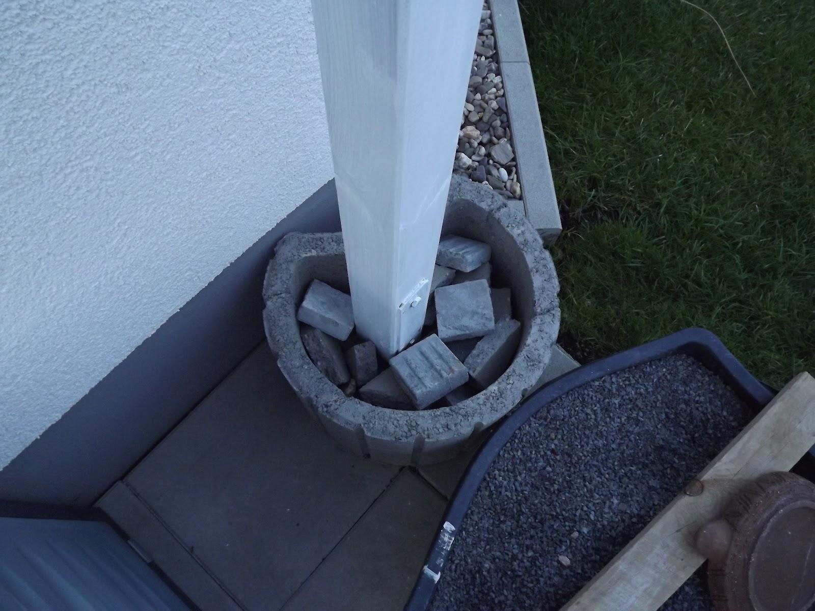 Hausbauprojekt 2009 Terrassenuberdachung Erneuert