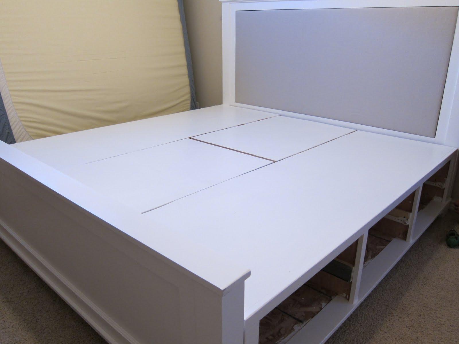 do it yourself divas: DIY : King Size Bed Frame Part 4 ...