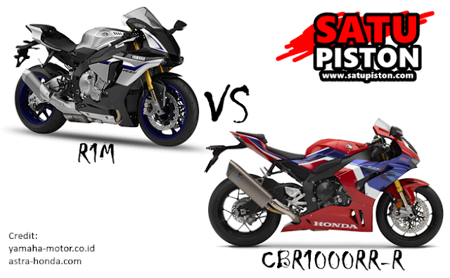 Perbandingan R1M dan CBR1000RR-R