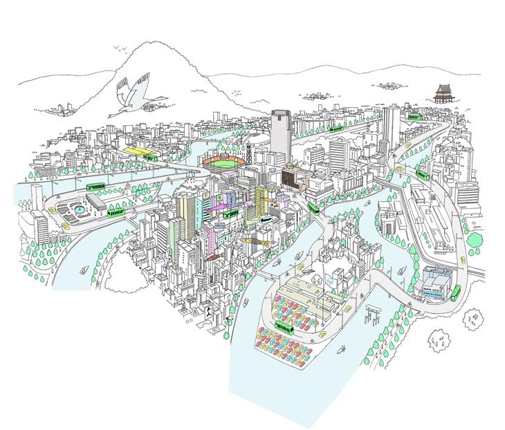 Chris Dent - Illustration Portfolio - City