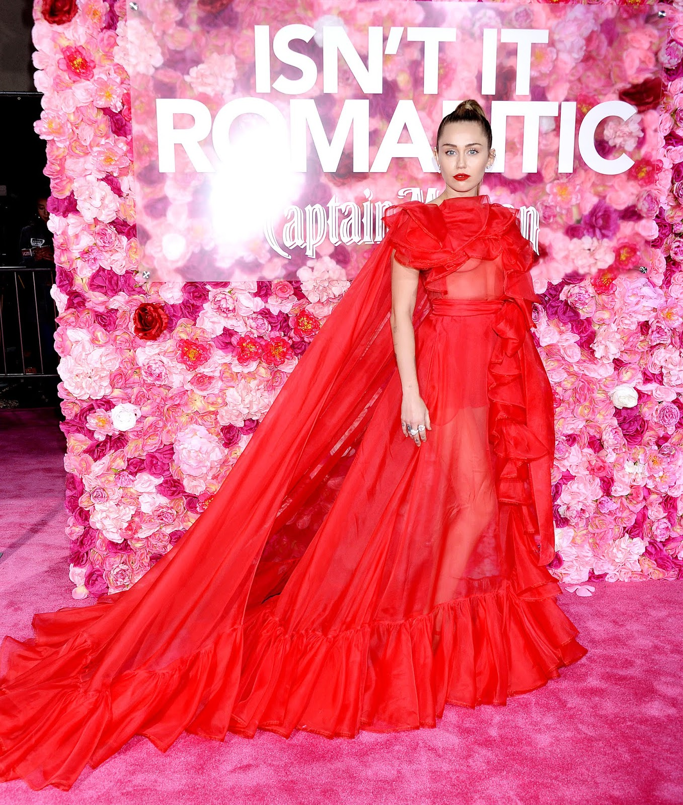"Miley Cyrus - ""Isn't It Romantic"" Premiere Los Angeles February 11, 2019"