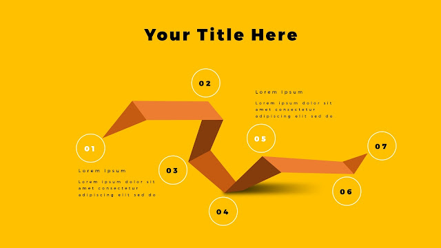 Origami Infographics for PowerPoint Template Slide 8