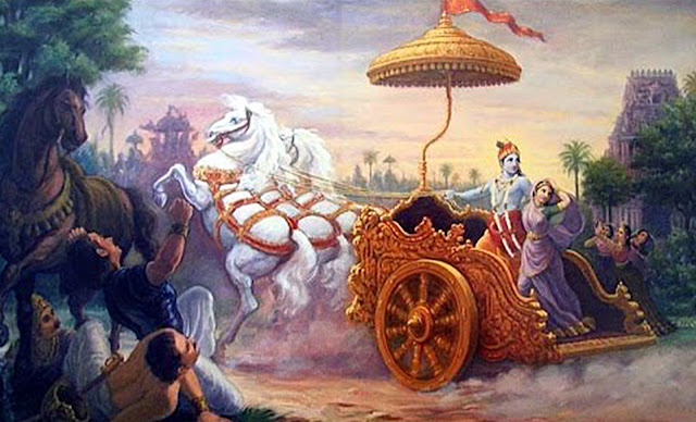 Krishna kidnaps Rukmini