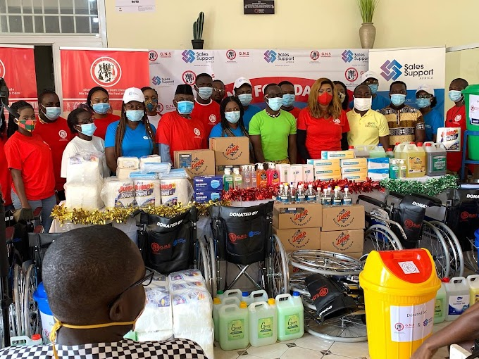 G.N.S Foundation in partnership with Sales Support Africa donates to Korle Bu Sickle Cell Clinic