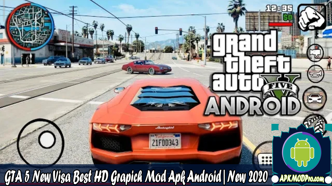 Download GTA 5 New Visa Best HD Grapich Mod Apk Android | New 2020