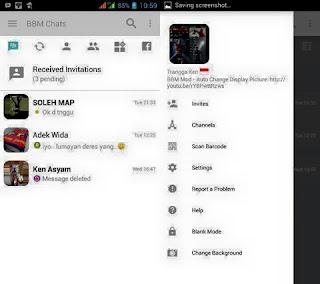 BBM Mod Light Style V3.3.0.16 Apk Change Background Apk