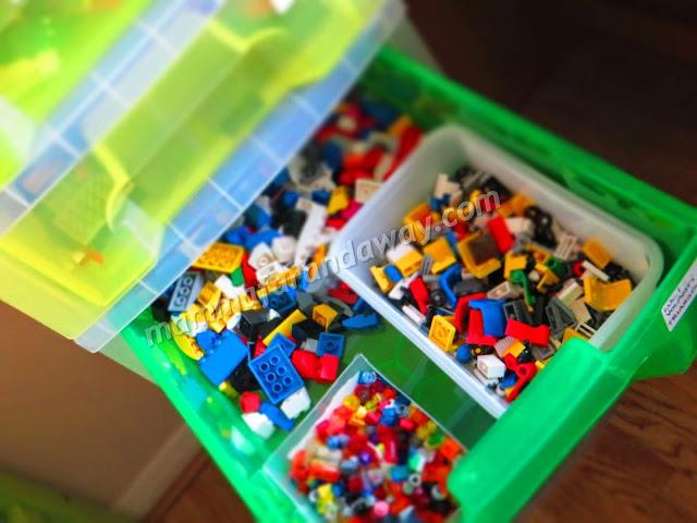 cassetto per lego