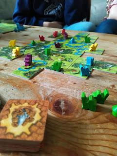 SPIEL.digital - Hühner.Spiel.Platz - Spielen mit Frau Frieda - Carcassonne-Jaeger&Sammler von Hans-im-Glueck
