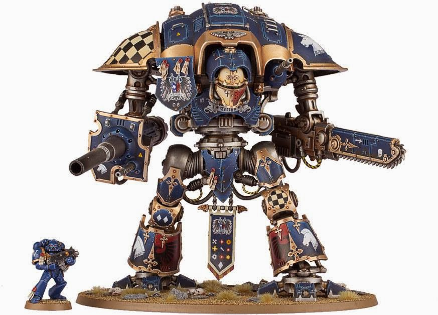 Imperial Knights Damage Limitation - (lots of) Pictures Released | Talk Wargaming - Original ...