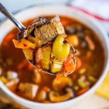 Weight Watchers Instant Pot Skinny Steak Soup