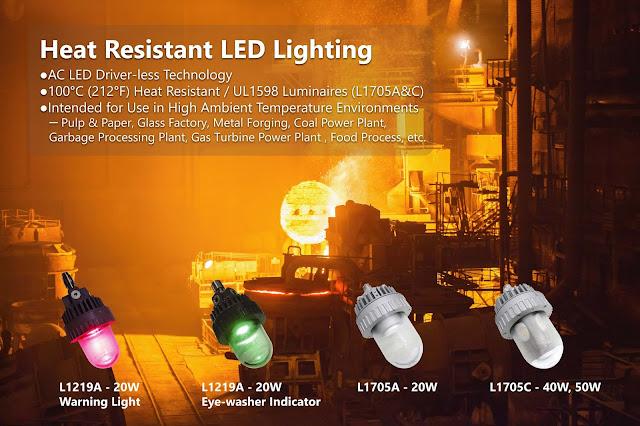 Heat Resistant LED Warning Light_THT-EX