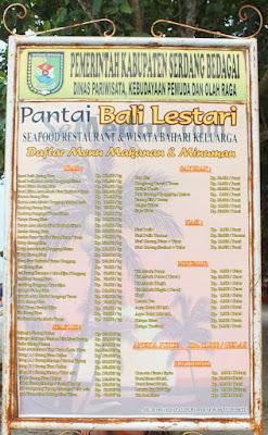 Pantai Bali Lestari, Perbaungan, Serdang Bedagai