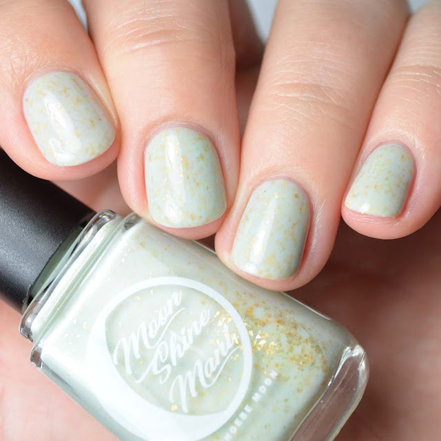 dusty mint green nail polish