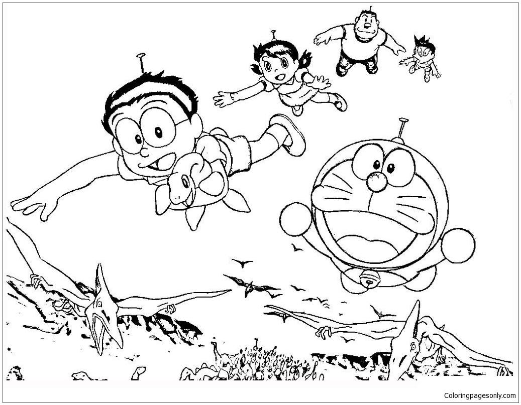 Kumpulan Gambar Kartun Berpasangan Hitam Putih Terbaru Kolek Gambar