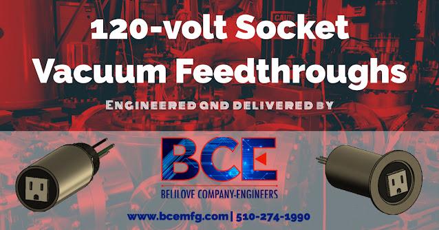 120-volt Socket Vacuum Feedthroughs