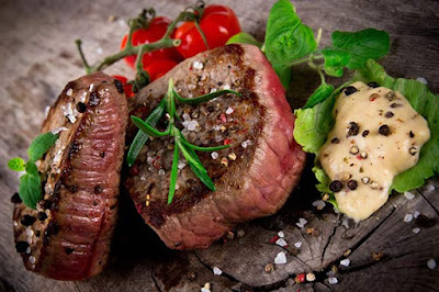 اللحم الاحمر يحتوي على الكثير من الأرچنين