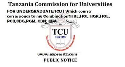FOR UNDERGRADUATE APPLICANTS:TCU | Which Course Corresponds to My Form Six Combination?HKL,HGL HGK,HGE, PCB,CBG,PGM, CBN, CBA