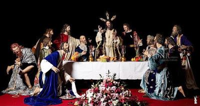 La Hermandad de la Sagrada Cena de Sanlúcar (Cádiz) termina el apostolado que acompaña a su Titular cristífero