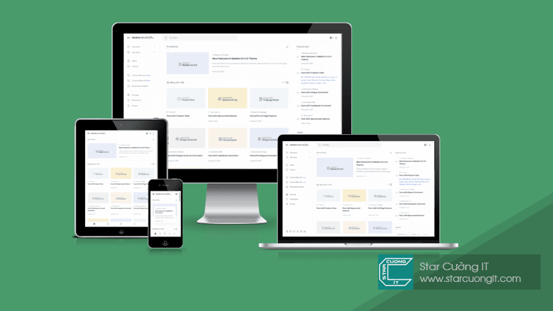 Median UI v1.5 Premium Blogger Template [Final]