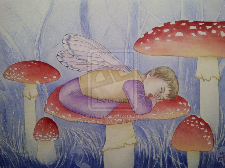 Winter Lullaby by Enchanted Visions Artist Monika Holloway