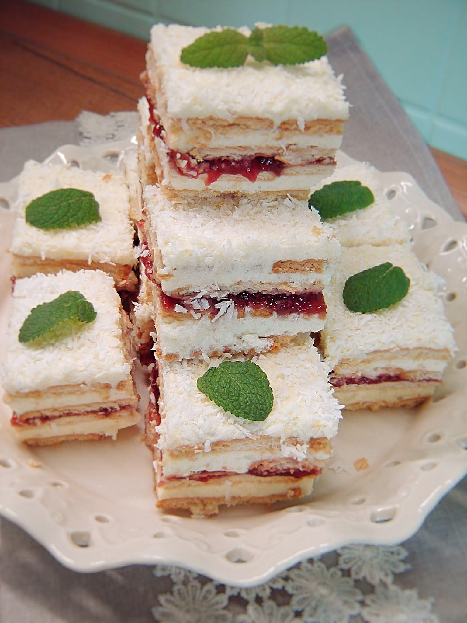Ciasto księżniczka (bez pieczenia)