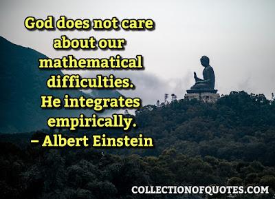 Albert Einstein Quotes About God And Religion