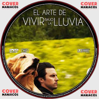 GALLETA EL ARTE DE VIVIR BAJO LA LLUVIA 2019[COVER DVD]