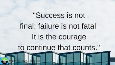 Best Success Quotes - Success is not final