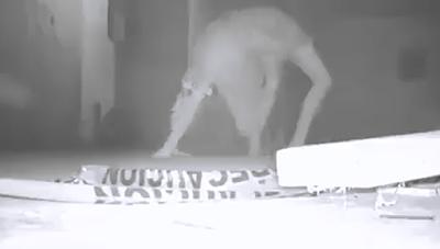 Escalofriante Mujer en Manicomio Abandonado