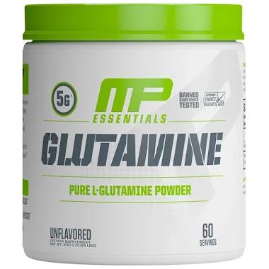 MusclePharm Glutamine Unflavoured, 0.66 lb