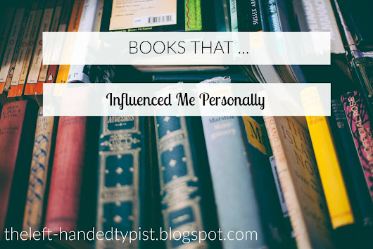 Books That ... Influenced Me Personally