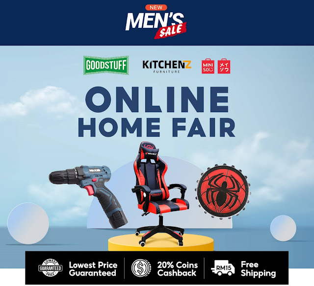 5. Shopee Men's Sale: