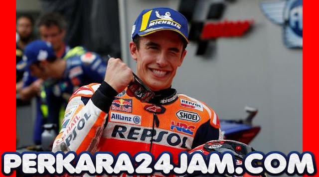 Rider Marquez Lega Cedera Bahunya Sembuh Pada Test MotoGP Jerez