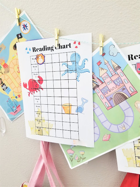 summer reading chart printable