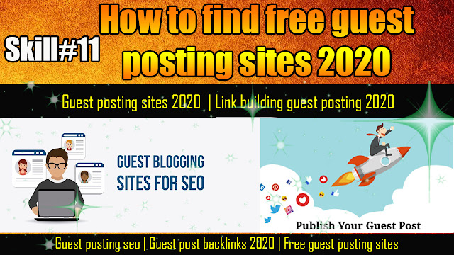 How to find free guest posting sites