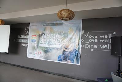 penyambutan peserta musi beyond harper hotel palembang