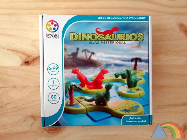 """Juego """"Dinosaurios, islas misteriosas"""" de Smart Games"""