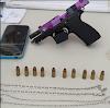 Homem portava pistola nas proximidades da Caixa Dagua