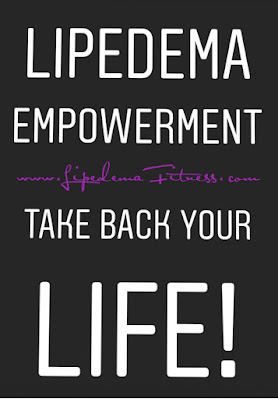 Stay active, take action, practice self care, by doing so you emotionally empower yourself to stand up to Lipedema and the emotional toll it can take on us.