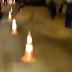 Parte da pista cedeu na Felizardo Moura e o caos está formado no acesso à ZN