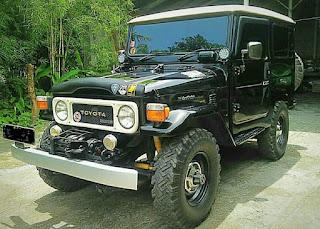 Jual Hardtop Diesel Aseli BJ40 1983 Kondisi Terawat Banget