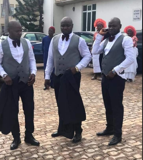 ENUGU STATE: TWO SETS OF TRIPLET TIE THE KNOT {PHOTOS}