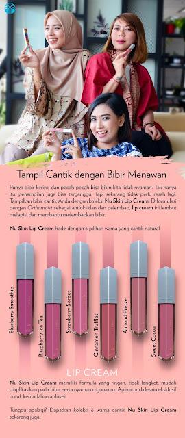 lip cream nu skin