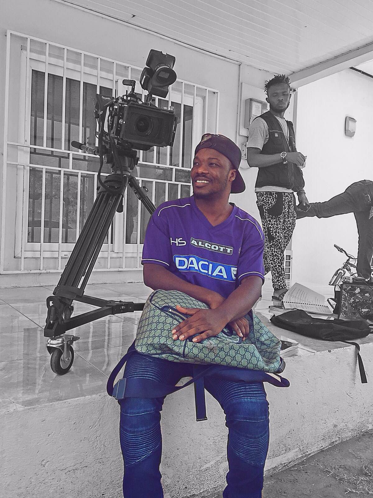 Young Ghanaian Filmmaker (Photo Credit: Swagg News  Africa)